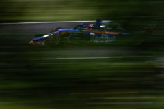 BUDAPEST, HUNGARY - AUGUST 03: Daniil Kvyat driving the (26) Scuderia Toro Rosso STR14 Honda on track during final practice for the F1 Grand Prix of Hungary at Hungaroring on August 03, 2019 in Budapest, Hungary. (Photo by Lars Baron/Getty Images) // Getty Images / Red Bull Content Pool  // AP-2156KSA751W11 // Usage for editorial use only // Please go to www.redbullcontentpool.com for further information. //