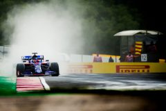 BUDAPEST, HUNGARY - AUGUST 03:Daniil Kvyat of Scuderia Toro Rosso and Russia  during final practice for the F1 Grand Prix of Hungary at Hungaroring on August 03, 2019 in Budapest, Hungary. (Photo by Peter Fox/Getty Images) // Getty Images / Red Bull Content Pool  // AP-2156JD8TW1W11 // Usage for editorial use only // Please go to www.redbullcontentpool.com for further information. //