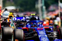 BUDAPEST, HUNGARY - AUGUST 04:Alex Albon of Scuderia Toro Rosso and Thailand  during the F1 Grand Prix of Hungary at Hungaroring on August 04, 2019 in Budapest, Hungary. (Photo by Peter Fox/Getty Images) // Getty Images / Red Bull Content Pool  // AP-215JQJPUD1W11 // Usage for editorial use only // Please go to www.redbullcontentpool.com for further information. //