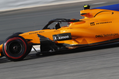 Bahrain International Circuit, Sakhir, Bahrain.Saturday 7 April 2018.Stoffel Vandoorne, McLaren MCL33 Renault. Photo: Steven Tee/McLarenref: Digital Image _2ST6119