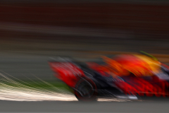 BAHRAIN, BAHRAIN - MARCH 31: Sparks fly behind Pierre Gasly of France driving the (10) Aston Martin Red Bull Racing RB15 on track during the F1 Grand Prix of Bahrain at Bahrain International Circuit on March 31, 2019 in Bahrain, Bahrain. (Photo by Mark Thompson/Getty Images) // Getty Images / Red Bull Content Pool  // AP-1YW1KSED92111 // Usage for editorial use only // Please go to www.redbullcontentpool.com for further information. //