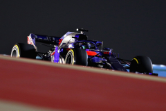 BAHRAIN, BAHRAIN - APRIL 08: Brendon Hartley of New Zealand driving the (28) Scuderia Toro Rosso STR13 Honda on track during the Bahrain Formula One Grand Prix at Bahrain International Circuit on April 8, 2018 in Bahrain, Bahrain.  (Photo by Mark Thompson/Getty Images) // Getty Images / Red Bull Content Pool  // AP-1VA5CG22H1W11 // Usage for editorial use only // Please go to www.redbullcontentpool.com for further information. //