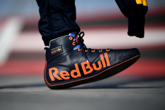 BAHRAIN, BAHRAIN - MARCH 28: The feet of Pierre Gasly of France and Red Bull Racing are seen in the Paddock during previews ahead of the F1 Grand Prix of Bahrain at Bahrain International Circuit on March 28, 2019 in Bahrain, Bahrain. (Photo by Clive Mason/Getty Images) // Getty Images / Red Bull Content Pool  // AP-1YV2C1BSD1W11 // Usage for editorial use only // Please go to www.redbullcontentpool.com for further information. //
