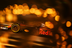BAHRAIN, BAHRAIN - MARCH 29: Max Verstappen of the Netherlands driving the (33) Aston Martin Red Bull Racing RB15 on track during practice for the F1 Grand Prix of Bahrain at Bahrain International Circuit on March 29, 2019 in Bahrain, Bahrain. (Photo by Clive Mason/Getty Images) // Getty Images / Red Bull Content Pool  // AP-1YVCKTAF52111 // Usage for editorial use only // Please go to www.redbullcontentpool.com for further information. //