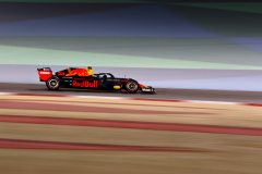 BAHRAIN, BAHRAIN - MARCH 29: Max Verstappen of the Netherlands driving the (33) Aston Martin Red Bull Racing RB15 on track during practice for the F1 Grand Prix of Bahrain at Bahrain International Circuit on March 29, 2019 in Bahrain, Bahrain. (Photo by Mark Thompson/Getty Images) // Getty Images / Red Bull Content Pool  // AP-1YVD5NDE51W11 // Usage for editorial use only // Please go to www.redbullcontentpool.com for further information. //
