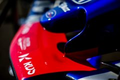LE CASTELLET, FRANCE - JUNE 21: Scuderia Toro Rosso nosecone during practice for the F1 Grand Prix of France at Circuit Paul Ricard on June 21, 2019 in Le Castellet, France. (Photo by Peter Fox/Getty Images) // Getty Images / Red Bull Content Pool  // AP-1ZQDZNEVH2111 // Usage for editorial use only // Please go to www.redbullcontentpool.com for further information. //