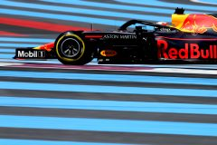 LE CASTELLET, FRANCE - JUNE 22: Max Verstappen of the Netherlands driving the (33) Aston Martin Red Bull Racing RB15 on track during qualifying for the F1 Grand Prix of France at Circuit Paul Ricard on June 22, 2019 in Le Castellet, France. (Photo by Charles Coates/Getty Images) // Getty Images / Red Bull Content Pool  // AP-1ZQQUM6SN2111 // Usage for editorial use only // Please go to www.redbullcontentpool.com for further information. //