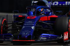 LE CASTELLET, FRANCE - JUNE 22: Alexander Albon of Thailand driving the (23) Scuderia Toro Rosso STR14 Honda on track during qualifying for the F1 Grand Prix of France at Circuit Paul Ricard on June 22, 2019 in Le Castellet, France. (Photo by Mark Thompson/Getty Images) // Getty Images / Red Bull Content Pool  // AP-1ZQQHH6X92511 // Usage for editorial use only // Please go to www.redbullcontentpool.com for further information. //