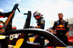 LE CASTELLET, FRANCE - JUNE 24:  Max Verstappen of Netherlands and Red Bull Racing prepares to drive on the grid before the Formula One Grand Prix of France at Circuit Paul Ricard on June 24, 2018 in Le Castellet, France.  (Photo by Mark Thompson/Getty Images) // Getty Images / Red Bull Content Pool  // AP-1W2X3MWBW2111 // Usage for editorial use only // Please go to www.redbullcontentpool.com for further information. //
