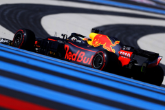 LE CASTELLET, FRANCE - JUNE 22: Daniel Ricciardo of Australia driving the (3) Aston Martin Red Bull Racing RB14 TAG Heuer on track during practice for the Formula One Grand Prix of France at Circuit Paul Ricard on June 22, 2018 in Le Castellet, France.  (Photo by Dan Istitene/Getty Images) // Getty Images / Red Bull Content Pool  // AP-1W291BTC11W11 // Usage for editorial use only // Please go to www.redbullcontentpool.com for further information. //