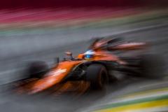Interlagos, Sao Paulo, Brazil.Saturday 11 November 2017.Fernando Alonso, McLaren MCL32 Honda.Photo: Glenn Dunbar/McLarenref: Digital Image _X4I1522