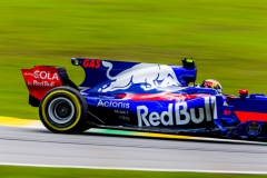 SAO PAULO, BRAZIL - NOVEMBER 11: Pierre Gasly of Scuderia Toro Rosso and France during qualifying for the Formula One Grand Prix of Brazil at Autodromo Jose Carlos Pace on November 11, 2017 in Sao Paulo, Brazil. (Photo by Peter Fox/Getty Images) // Getty Images / Red Bull Content Pool // P-20171111-01374 // Usage for editorial use only // Please go to www.redbullcontentpool.com for further information. //