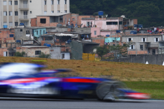 SAO PAULO, BRAZIL - NOVEMBER 11: Pierre Gasly of France and Scuderia Toro Rosso driving the (10) Scuderia Toro Rosso STR13 Honda on track during the Formula One Grand Prix of Brazil at Autodromo Jose Carlos Pace on November 11, 2018 in Sao Paulo, Brazil.  (Photo by Clive Mason/Getty Images) // Getty Images / Red Bull Content Pool  // AP-1XG1EDVGD2111 // Usage for editorial use only // Please go to www.redbullcontentpool.com for further information. //