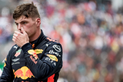 SAO PAULO, BRAZIL - NOVEMBER 11:  Second place finisher Max Verstappen of Netherlands and Red Bull Racing looks on in parc ferme during the Formula One Grand Prix of Brazil at Autodromo Jose Carlos Pace on November 11, 2018 in Sao Paulo, Brazil.  (Photo by Lars Baron/Getty Images) // Getty Images / Red Bull Content Pool  // AP-1XFZEDFNS1W11 // Usage for editorial use only // Please go to www.redbullcontentpool.com for further information. //