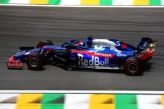 SAO PAULO, BRAZIL - NOVEMBER 16: Daniil Kvyat driving the (26) Scuderia Toro Rosso STR14 Honda on track during final practice for the F1 Grand Prix of Brazil at Autodromo Jose Carlos Pace on November 16, 2019 in Sao Paulo, Brazil. (Photo by Dan Istitene/Getty Images) // Getty Images / Red Bull Content Pool  // AP-227261MK52111 // Usage for editorial use only //