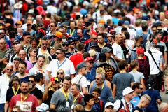 SPA, BELGIUM - AUGUST 25: Fans enjoy the atmosphere during practice for the Formula One Grand Prix of Belgium at Circuit de Spa-Francorchamps on August 25, 2017 in Spa, Belgium. (Photo by Mark Thompson/Getty Images) // Getty Images / Red Bull Content Pool // P-20170825-01848 // Usage for editorial use only // Please go to www.redbullcontentpool.com for further information. //