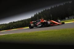 Spa Francorchamps, Belgium. Friday 25 August 2017.Stoffel Vandoorne, McLaren MCL32 Honda.Photo: Glenn Dunbar/McLarenref: Digital Image _31I4923