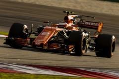 Sepang International Circuit, Sepang, Malaysia.Saturday 30 September 2017.Stoffel Vandoorne, McLaren MCL32 Honda.Photo: Zak Mauger/McLarenref: Digital Image _X0W7988