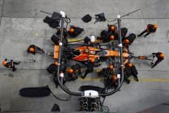 Sepang International Circuit, Sepang, Malaysia.Sunday 01 October 2017.Stoffel Vandoorne, McLaren MCL32 Honda, makes a pit stop.World Copyright: Steven Tee/McLaren ref: Digital Image _O3I4177