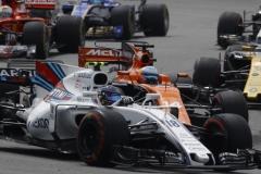 Sepang International Circuit, Sepang, Malaysia.Sunday 01 October 2017.Fernando Alonso, McLaren MCL32 Honda.World Copyright: Steven Tee/McLaren ref: Digital Image _O3I3938