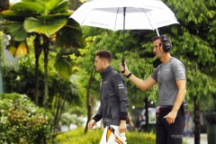 Sepang International Circuit, Sepang, Malaysia.Friday 29 September 2017.Stoffel Vandoorne, McLaren.Photo: Steven Tee/McLarenref: Digital Image _R3I2086