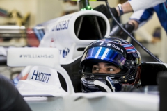 Autodromo Hermanos Rodriguez, Mexico City, Mexico.Saturday 28 October 2017.Lance Stroll, Williams Martini Racing.Photo: Zak Mauger/Williamsref: Digital Image _31I7046