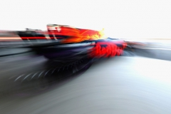 MEXICO CITY, MEXICO - OCTOBER 28: Max Verstappen of the Netherlands driving the (33) Red Bull Racing Red Bull-TAG Heuer RB13 TAG Heuer leaves the garage during qualifying for the Formula One Grand Prix of Mexico at Autodromo Hermanos Rodriguez on October 28, 2017 in Mexico City, Mexico. (Photo by Mark Thompson/Getty Images) // Getty Images / Red Bull Content Pool // P-20171028-01491 // Usage for editorial use only // Please go to www.redbullcontentpool.com for further information. //