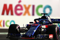 MEXICO CITY, MEXICO - OCTOBER 26: Brendon Hartley of New Zealand driving the (28) Scuderia Toro Rosso STR13 Honda on track during practice for the Formula One Grand Prix of Mexico at Autodromo Hermanos Rodriguez on October 26, 2018 in Mexico City, Mexico.  (Photo by Dan Istitene/Getty Images) // Getty Images / Red Bull Content Pool  // AP-1XASSX4V92111 // Usage for editorial use only // Please go to www.redbullcontentpool.com for further information. //
