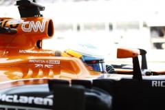 Autodromo Hermanos Rodriguez, Mexico City, Mexico.Friday 27 October 2017.Fernando Alonso, McLaren.Photo: Steven Tee/McLarenref: Digital Image _O3I6490