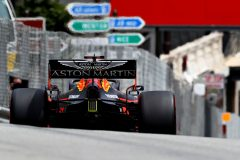 MONTE-CARLO, MONACO - MAY 25: Max Verstappen of the Netherlands driving the (33) Aston Martin Red Bull Racing RB15 on track during final practice for the F1 Grand Prix of Monaco at Circuit de Monaco on May 25, 2019 in Monte-Carlo, Monaco. (Photo by Mark Thompson/Getty Images) // Getty Images / Red Bull Content Pool  // AP-1ZEQHUJKW1W11 // Usage for editorial use only // Please go to www.redbullcontentpool.com for further information. //