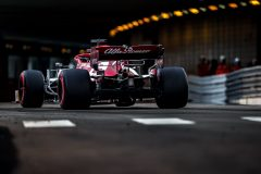 07 RAIKKONEN Kimi (fin), Alfa Romeo Racing C38, action during the 2019 Formula One World Championship, Grand Prix of Monaco from on May 23 to 26 in Monaco - Photo Thomas Fenetre / DPPI