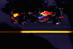 MONTE-CARLO, MONACO - MAY 26:  Daniel Ricciardo of Australia driving the (3) Aston Martin Red Bull Racing RB14 TAG Heuer on track during qualifying for the Monaco Formula One Grand Prix at Circuit de Monaco on May 26, 2018 in Monte-Carlo, Monaco.  (Photo by Mark Thompson/Getty Images) // Getty Images / Red Bull Content Pool  // AP-1VSJ1WA6H1W11 // Usage for editorial use only // Please go to www.redbullcontentpool.com for further information. //