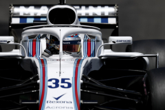 Monte Carlo, MonacoSaturday 26 May 2018.Sergey Sirotkin, Williams FW41 Mercedes.Photo: Glenn Dunbar/Williams F1ref: Digital Image _31I2993