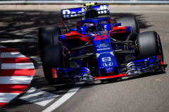 MONTE-CARLO, MONACO - MAY 26:  26:  26:  Pierre Gasly of Scuderia Toro Rosso and France during qualifying for the Monaco Formula One Grand Prix at Circuit de Monaco on May 26, 2018 in Monte-Carlo, Monaco.  (Photo by Peter Fox/Getty Images) // Getty Images / Red Bull Content Pool  // AP-1VSJ8S1MN2111 // Usage for editorial use only // Please go to www.redbullcontentpool.com for further information. //