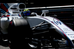 Monte Carlo, Monaco. Saturday 27 May 2017. Felipe Massa, Williams FW40 Mercedes. Photo: Charles Coates/Williams ref: Digital Image AN7T6670