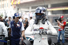 Monte Carlo, MonacoSunday 27 May 2018.Lance Stroll, Williams Racing, on the grid.Photo: Glenn Dunbar/Williams F1ref: Digital Image _31I5566