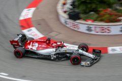 07 RAIKKONEN Kimi (fin), Alfa Romeo Racing C38, action during the 2019 Formula One World Championship, Grand Prix of Monaco from on May 23 to 26 in Monaco - Photo Marc de Mattia / DPPI