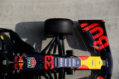 SHANGHAI, CHINA - APRIL 13: The car of Max Verstappen of Netherlands and Red Bull Racing is seen in parc ferme during qualifying for the F1 Grand Prix of China at Shanghai International Circuit on April 13, 2019 in Shanghai, China. (Photo by Mark Thompson/Getty Images) // Getty Images / Red Bull Content Pool  // AP-1Z145BAG91W11 // Usage for editorial use only // Please go to www.redbullcontentpool.com for further information. //