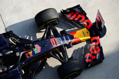 SHANGHAI, CHINA - APRIL 15: The winning car of Daniel Ricciardo of Australia and Red Bull Racing in parc ferme during the Formula One Grand Prix of China at Shanghai International Circuit on April 15, 2018 in Shanghai, China.  (Photo by Mark Thompson/Getty Images) // Getty Images / Red Bull Content Pool  // AP-1VC9M2T1H1W11 // Usage for editorial use only // Please go to www.redbullcontentpool.com for further information. //