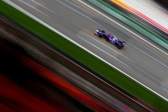 SHANGHAI, CHINA - APRIL 12: Alexander Albon of Thailand driving the (23) Scuderia Toro Rosso STR14 Honda on track during practice for the F1 Grand Prix of China at Shanghai International Circuit on April 12, 2019 in Shanghai, China. (Photo by Dan Istitene/Getty Images) // Getty Images / Red Bull Content Pool  // AP-1YZSABV4N1W11 // Usage for editorial use only // Please go to www.redbullcontentpool.com for further information. //