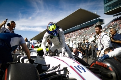 Suzuka Circuit, Japan.Sunday 8 October 2017.Felipe Massa, Williams Martini Racing, arrives on the grid.Photo: Glenn Dunbar/Williamsref: Digital Image _31I7823