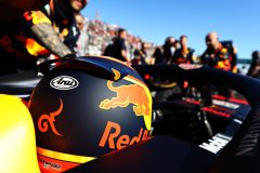 SUZUKA, JAPAN - OCTOBER 13: Alexander Albon of Thailand and Red Bull Racing prepares to drive on the grid before the F1 Grand Prix of Japan at Suzuka Circuit on October 13, 2019 in Suzuka, Japan. (Photo by Mark Thompson/Getty Images) // Getty Images / Red Bull Content Pool  // AP-21UZU8RE92111 // Usage for editorial use only //