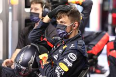 SPIELBERG, AUSTRIA - JULY 05: A member of the Red Bull Racing team watches the race during the Formula One Grand Prix of Austria at Red Bull Ring on July 05, 2020 in Spielberg, Austria. (Photo by Getty Images/Getty Images) // Getty Images / Red Bull Content Pool  // AP-24HS1329N1W11 // Usage for editorial use only //